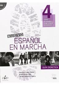 Nuevo Espanol en marcha 4 przewodnik metodyczny