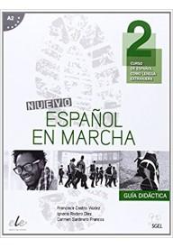 Nuevo Espanol en marcha 2 przewodnik metodyczny