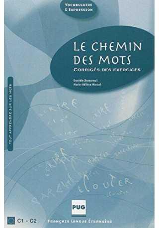 Chemin des mots klucz o ćwiczeń C1-C2