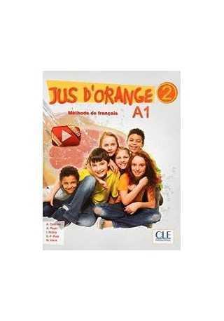 Jus d'orange 2 A1 podręcznik + płyta DVD ROM