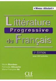 Litterature progressive du francais 2ed debutant książka