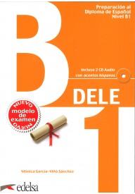 DELE B1 ed.2013 książka + 2 płyty CD audio