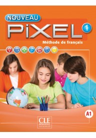 Pixel 1 A1 podręcznik + DVD ROM /edycja 2016/