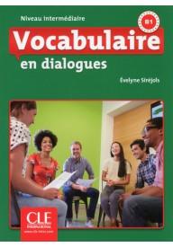 Vocabulaire en dialogues Niveau intermediaire + CD audio