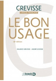 Le Bon usage 16e edition