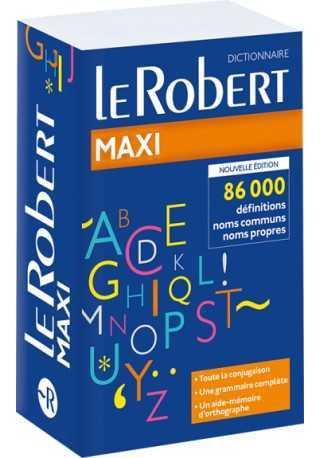 Dictionnaire Le Robert Maxi