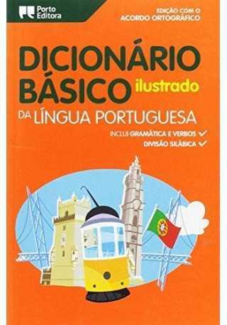 Dicionario Basico Ilustrado da Lingua portuguesa /duży/