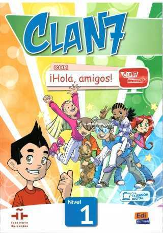 Clan 7 con Hola amigos 1 podręcznik + zawartość online