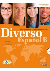 Diverso Espanol B podręcznik + ćwiczenia + CD MP3