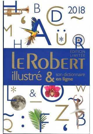 Robert illustre & son dictionnaire en ligne 2018 - edycja limitowana