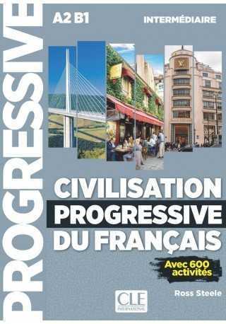 Civilisation progressive du francais intermediaire + CD MP3 2eme edition