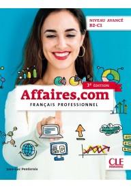 Affaires.com 3 edycja podręcznik + DVD niveau avance B2-C1