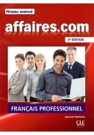 Affaires.com 2 edycja podręcznik + DVD ROM niveau avance