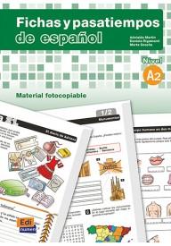 Fichas y pasatiempos de espanol A2