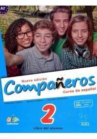 Companeros 2 podręcznik + licencia digital - nueva edicion