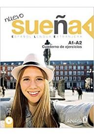 Suena Nuevo 1 ćwiczenia +  CD audio poziom A1-A2