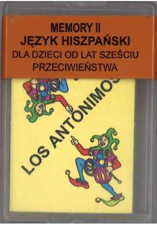 Domino do hiszpańskiego Memory II Przeciwieństwa