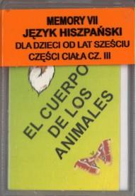 Memory VII - język hiszpański - Części ciała cz.3