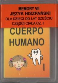 Domino do hiszpańskiego Cześci ciała cz.1