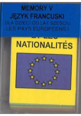 Domino do francuskiego Memory 5 Kraje Europejskie