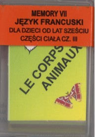 Memory VII- język francuski - Części Ciała cz. III