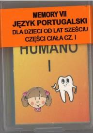 Domino do portugalskiego Części ciała 1