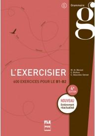 Exercisier książka poziom 600 exercisier le B1-B2