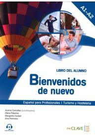 Bienvenidos de nuevo podręcznik + audio do pobrania
