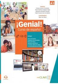 Genial! A1 podręcznik + ćwiczenia + dodatek leksykalno-gramatyczny + audio do pobrania