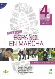 Nuevo Espanol en marcha 4 ćwiczenia + CD audio