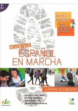Nuevo Espanol en marcha basico A1+A2 ćwiczenia + CD audio