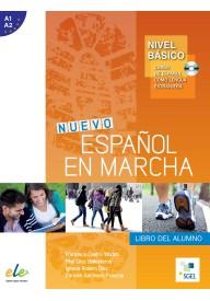 Nuevo Espanol en marcha basico A1+A2 podręcznik + CD audio