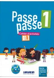 Passe-Passe 1 ćwiczenia A1.1 + CD audio