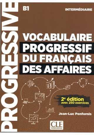 Vocabulaire progressif des affaires intermediaire B1 książka + CD audio