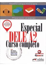 Especial DELE A2 curso completo książka