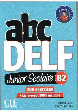 ABC DELF B2 junior scolaire książka + DVD + zawartość online 2ed