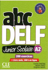 ABC DELF A2 junior scolaire książka + DVD + zawartość online 2ed