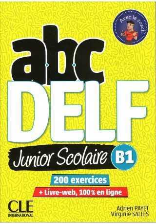 ABC DELF B1 junior scolaire książka + DVD + zawartość online 2ed