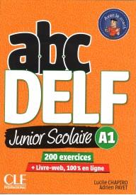 ABC DELF A1 junior scolaire książka + DVD + zawartość online 2ed