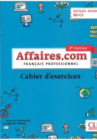 Affaires.com 3 edycja ćwiczenia niveau avance B2-C1