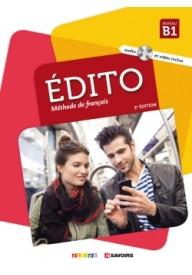 Edito B1 2ed podręcznik + płyta DVD (2018 r.)