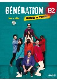 Generation B2 podręcznik +  ćwiczenia + CD mp3 + DVD