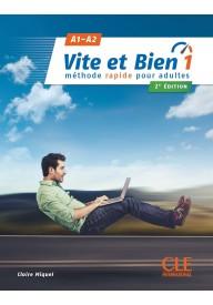 Vite et bien 1 A1/A2 podręcznik + klucz + CD ed. 2018