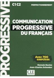 Communication progressive perfectionnement książka + CD MP3