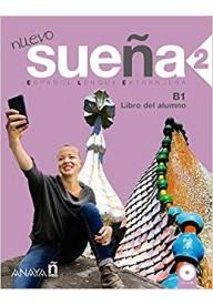 Suena Nuevo 2 podręcznik + 2 płyty CD poziom B1