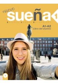 Suena Nuevo 1 podręcznik + 2 płyty CD poziom A1-A2