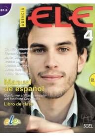 Agencia ELE 4 ćwiczenia + CD audio