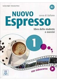 Nuovo Espresso 1 podręcznik + DVD ROM + ćwiczenia