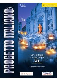 Nuovo Progetto Italiano 1A podręcznik + ćwiczenia + CD + DVD Edizione aggiornata