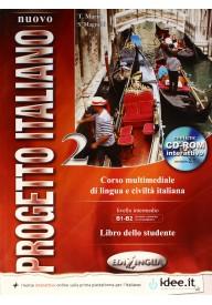 Nuovo Progetto italiano 2 podręcznik + DVD